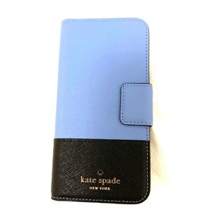 Kate Spade iPhone 6s Case with cardholder/mirror